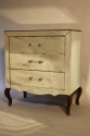 French mirrored chest of drawers - picture 6