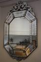 19th C Octagonal Venetian mirror - picture 2