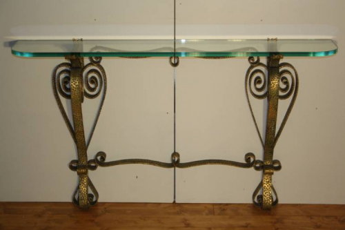 An unusual Pierre Luigi Colli console, Italian c1950