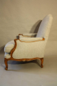 A pair of carved wood French fauteuils - picture 3