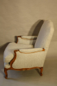 A pair of carved wood French fauteuils - picture 4