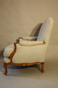A pair of carved wood French fauteuils - picture 5