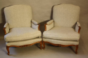 A pair of carved wood French fauteuils - picture 6