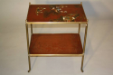 Elegant Chinoiserie side table, French c1950 - picture 1