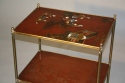 Elegant Chinoiserie side table, French c1950 - picture 3
