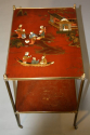 Elegant Chinoiserie side table, French c1950 - picture 4