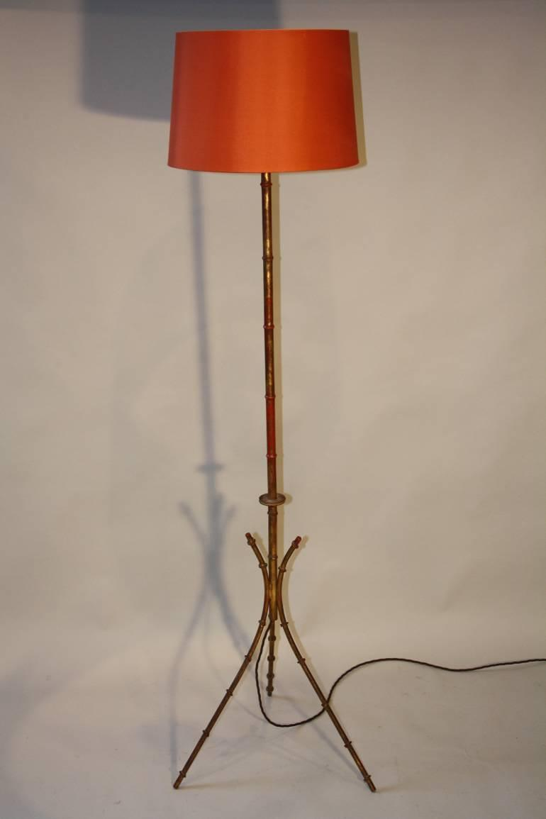 French 1950`s floor lamp
