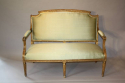 French gilt wood canape - picture 1