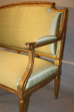 French gilt wood canape - picture 10
