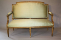 French gilt wood canape - picture 2