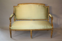 French gilt wood canape - picture 3
