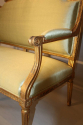 French gilt wood canape - picture 4
