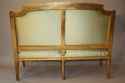 French gilt wood canape - picture 5