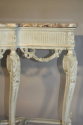 French Victorian painted and marble console. c1900 - picture 3