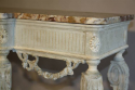 French Victorian painted and marble console. c1900 - picture 9