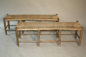A rustic rush bench - only one left - picture 2