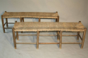 A rustic rush bench - only one left - picture 4