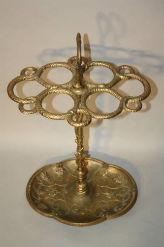 Brass umbrella/stick stand