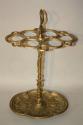 Brass umbrella/stick stand - picture 2