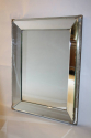 French 1950`s stepped mirror - picture 2