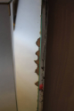 French 1950`s stepped mirror - picture 4