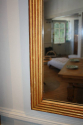 Reeded Giltwood mid C19th Mercury Glass Mirror - picture 6