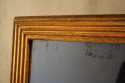Reeded Giltwood mid C19th Mercury Glass Mirror - picture 8