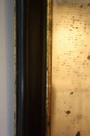 A French Antique Napoleon III ebonised and gilt mirror - picture 3