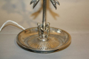 Silver Spanish table lamp with children detail - picture 3