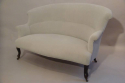 Classic French balloon back sofa, Napoleon III c1890 - picture 2