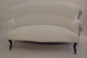 Classic French balloon back sofa, Napoleon III c1890 - picture 3