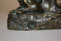 Bronze Panthere de Tunis by Barye - picture 3