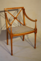 Edwardian inlaid chair - picture 2