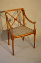 Edwardian inlaid chair - picture 3