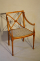 Edwardian inlaid chair - picture 6