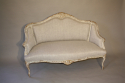Carved wood French sofa - picture 2