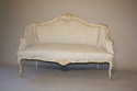 Carved wood French sofa - picture 4