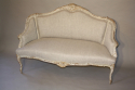 Carved wood French sofa - picture 5