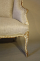 Carved wood French sofa - picture 7