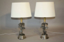 A pair of Valenti Giraffe table lamps - picture 2
