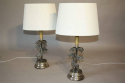 A pair of Valenti Giraffe table lamps - picture 5