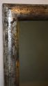 Silver leaf French bistro mirror, c1900 - picture 1