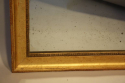 Soft gold rectangular mirror - picture 5