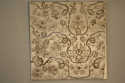 Indian hand stitched sequin textile of stylised flora and fauna on cream silk background. Early 20th - picture 2