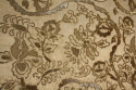 Indian hand stitched sequin textile of stylised flora and fauna on cream silk background. Early 20th - picture 3