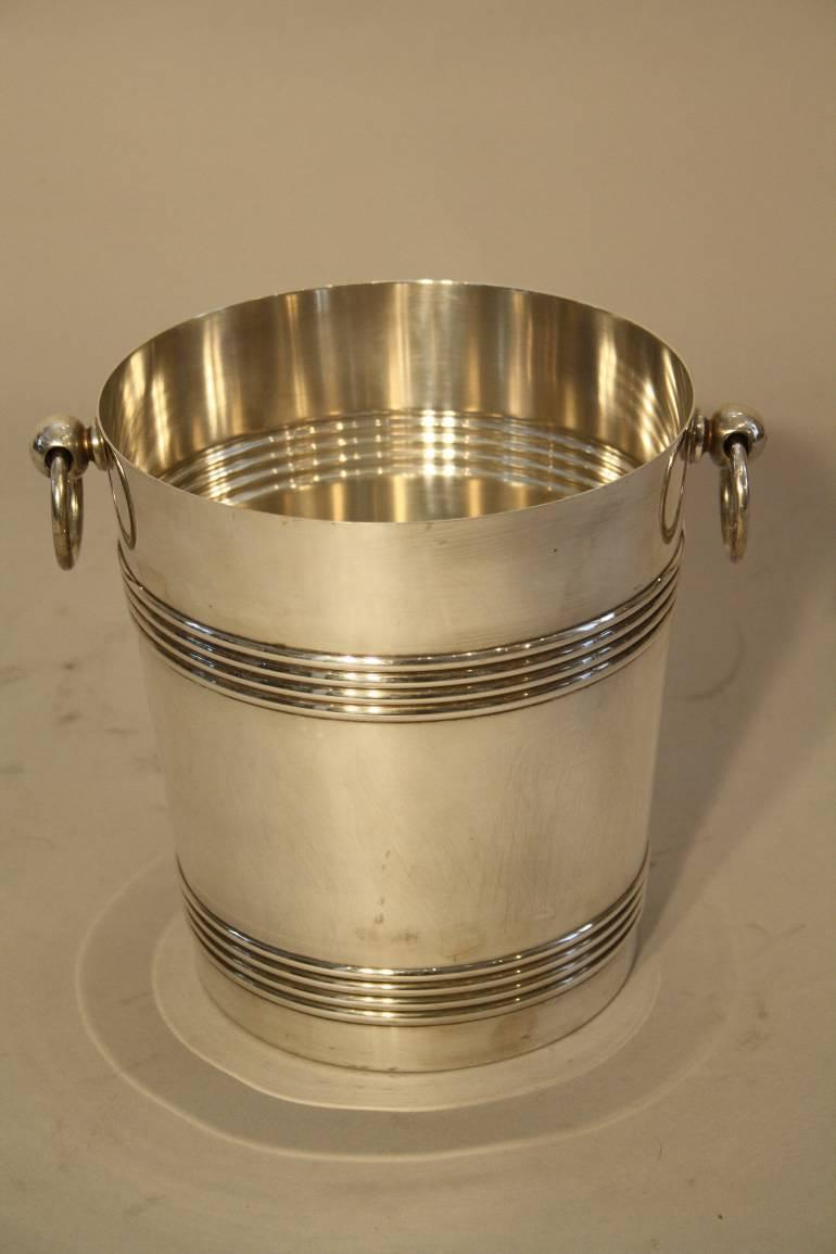 Christofle Silver Plate Ice Bucket