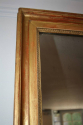 Gold leaf rectangular mirror, French c1880 - picture 3