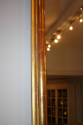 A large gilt gesso overmantle mirror - picture 3