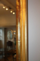 A large gilt gesso overmantle mirror - picture 4