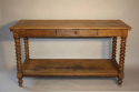 C19th Oak drapers table - picture 1